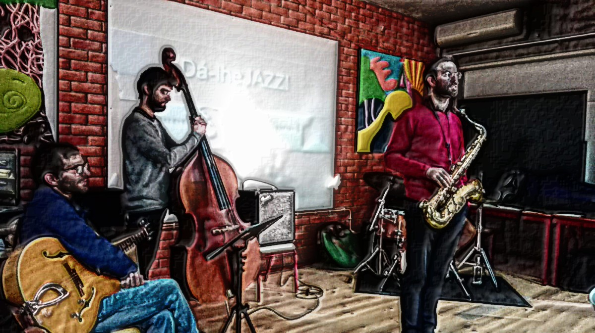 da lhe jazz cartoon